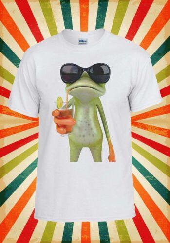 Frog Funny Cocktail Hipster Cool Men Women Unisex Top Sweatshirt Hoodie 302