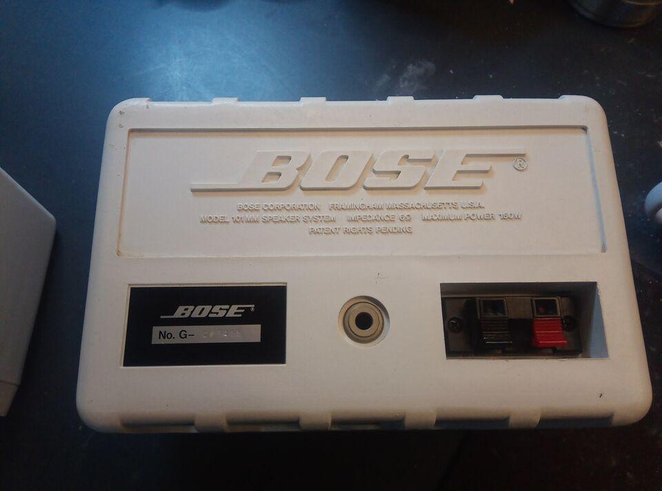 Højttaler, Bose, 101