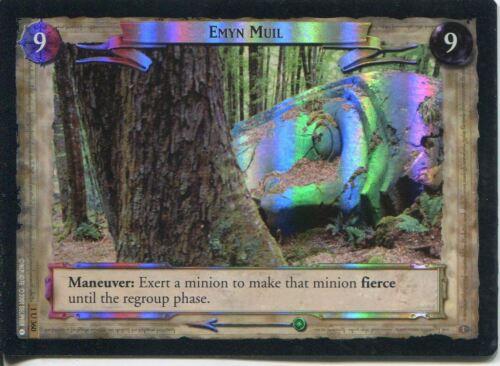 Lord Of The Rings CCG FotR Foil Card 1.U360 Emyn Muil