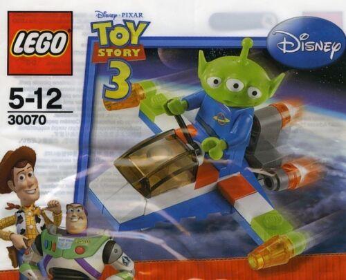 LEGO DISNEY TOY STORY 3 alieno con nave spaziale 30070