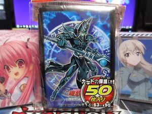 50-Yugioh-Small-Size-Card-Sleeves-Deck-Protector-Barrier-Dark-Magician