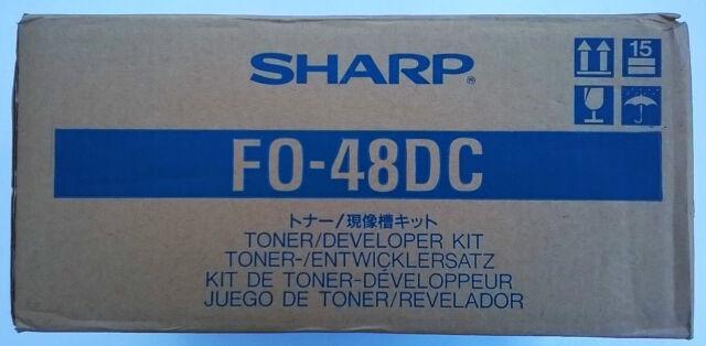 Sharp Original Toner FO-48DC  für FO-3400/ 3850M/ 4800/ 5400  OVP  Rechn.+MwSt.
