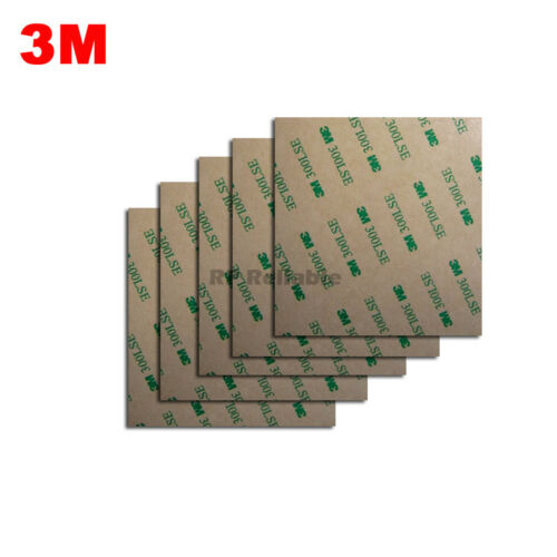 "100mm*100mm 4/"" Square 3M 300LSE Double Adhesive Sticker for metal LCD PVC"