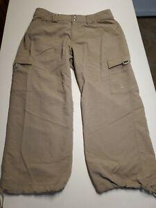 North-Face-Women-039-s-Nylon-Packable-Hiking-capri-Pants-taupe-10-4