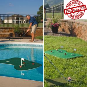 Aqua Water Golf Floating Putting Green Outdoor Pool ...
