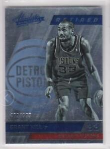 2015-16-Grant-Hill-999-Panini-Absolute-Basketball-145-Detroit-Pistons