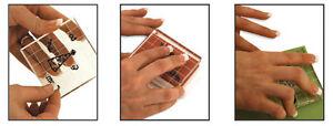 "Cricut Cuttables Stamp Kit - 4 acrylic blocks, 6"" x 6"" stamp sheet NEW"