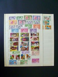 Guinea-Very-Nice-Lot-of-84-Stamps-Used-Unused-amp-CTO-See-Description-amp-Images