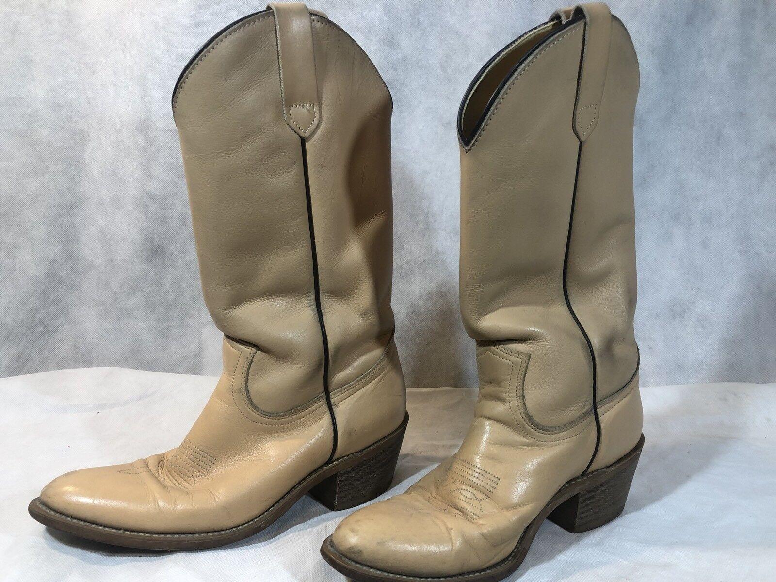 Frye Damen Hellbraun Tall Classic Leder Reitstiefel Western Cowboy Größe 8 D