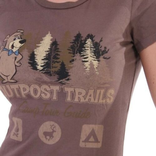 Outpost T-Shirt Women Camp Tour Guide Braun