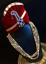 Groom Attire Sherwani Brooch Turban Pin Pagri Kalgi-Indian Wedding Accessories