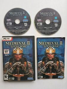 Details about MEDIEVAL TOTAL WAR II 2 - PC GAME - FAST POST Complete Very  Good Condition PAL