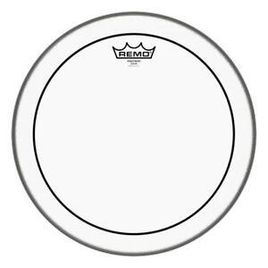 """13/"""" Remo Pinstripe Schlagzeug Fell Drum Clear Head zweilagig haltbar Dämpfung"""