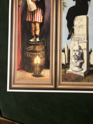 COLLECTOR POSTER 4 SIZES HAUNTED MANSION STRETCHING ROOM PART2 B2G1 FREE!!