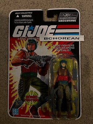 GI Joe Collector/'s Club EXCLUSIVE FSS FINAL 12 Sonic Fighters Viper Dodger GIJCC