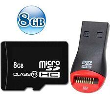 OEM CLASS 10 microSDHC 8GB 8G microSD micro SDHC TF Flash Memory Data Card +