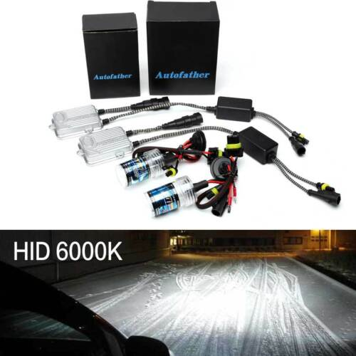 Hatchback /& Sportback H7 Xenon HID Conversion Headlight Kit 55W FIT For Audi A3