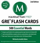 500 Essential Words GRE Vocabulary Flash Cards by Manhattan Prep 1935707892