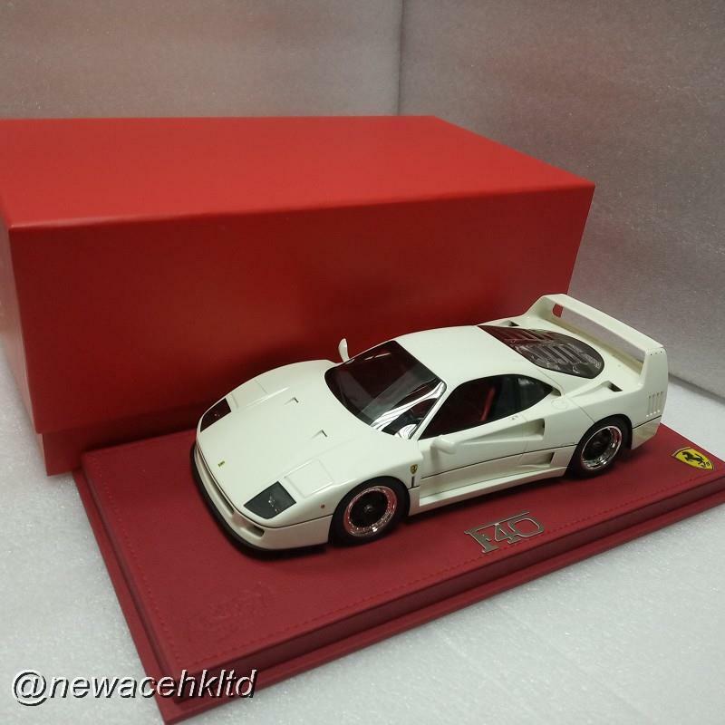 Ferrari F40 1987 Bianco Avus BBR MODEL  1 18  P18151F  meilleur choix