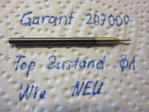 Garant VHM Radiusfräser 20700 konvex D1 R0,5 Neu