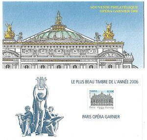 Timbres-France-Bloc-Souvenir-2007-N-24-Le-Plus-Beau-Timbre-de-l-039-Annee-2006