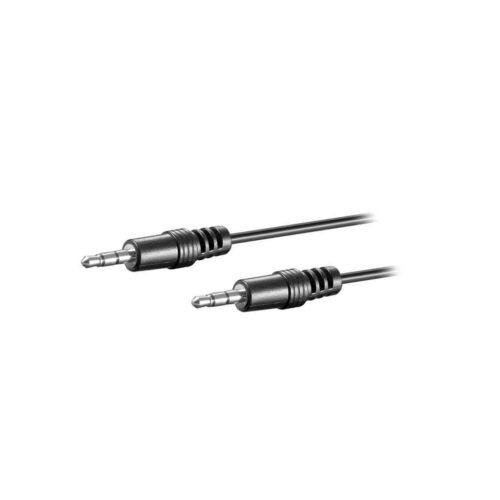 ambos lados Alambre dia4mm 2.5m 51659 Cable 404-2.5 Cable Jack 3.5mm Enchufe 3pin