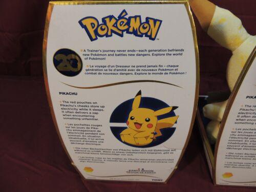 """NEW Pokemon 20th Anniversary Pikachu /& Winking Pikachu 10/"""" Plush BUNDLE LOT"""