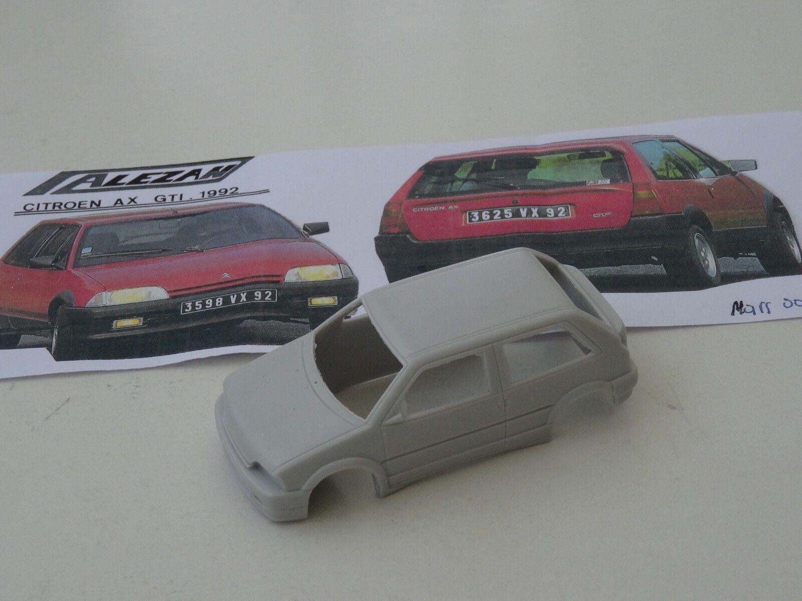 ALEZAN MODELS . 1 43 . CITROEN AX GTI GTI GTI . 3 PORTES . 1992 . 9bcdce