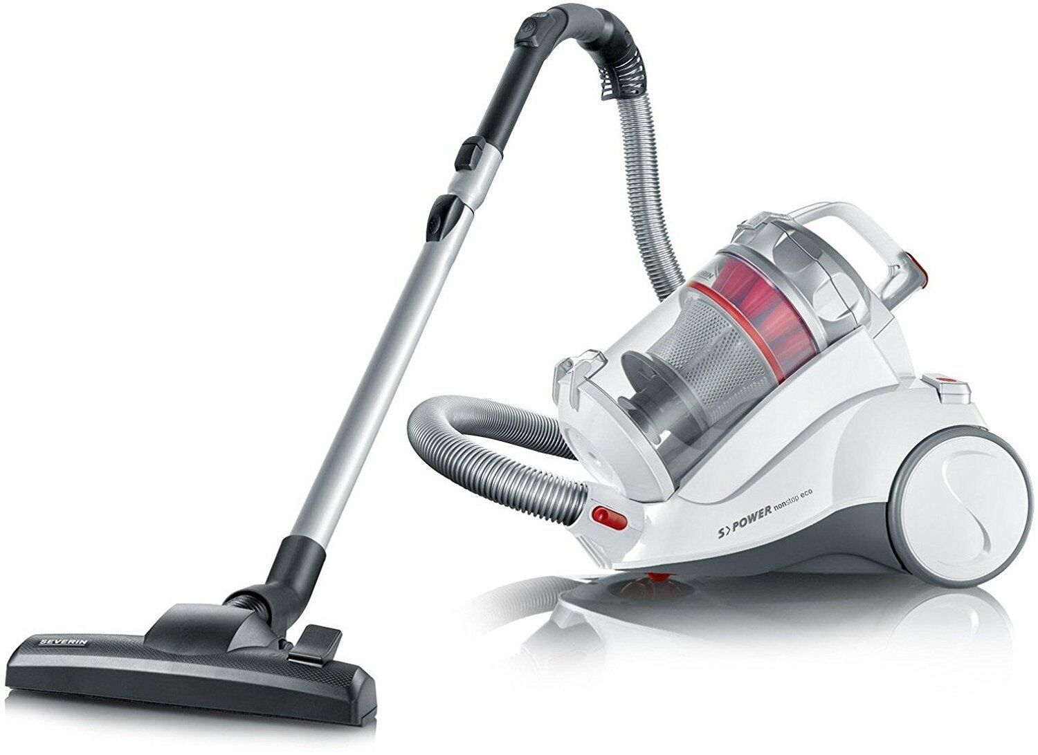 Severin MY 7116 Multicyclonic Vacuum Cleaner without Bag with Power Regulator
