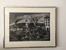 Georges Rouault Orig. Limited Edition Misere Acquatint Etching signed in pencil.