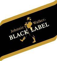 Johnnie Walker Black Label Sticker Decal Vinyl Logo 4 Stickers