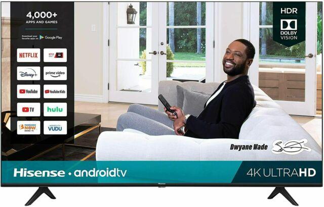 "Hisense 58"" H65G-Series 4K UHD HDR Smart Android TV w/ 3 HDMI"