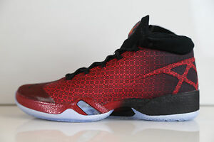 competitive price b833e 56ab2 Image is loading Nike-Air-Jordan-XXX-Bulls-Gym-Red-Black-