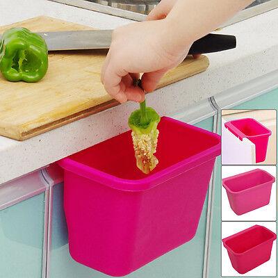 Kitchen cabinet doors hanging plastic trash Creative Desktop K328 Pink