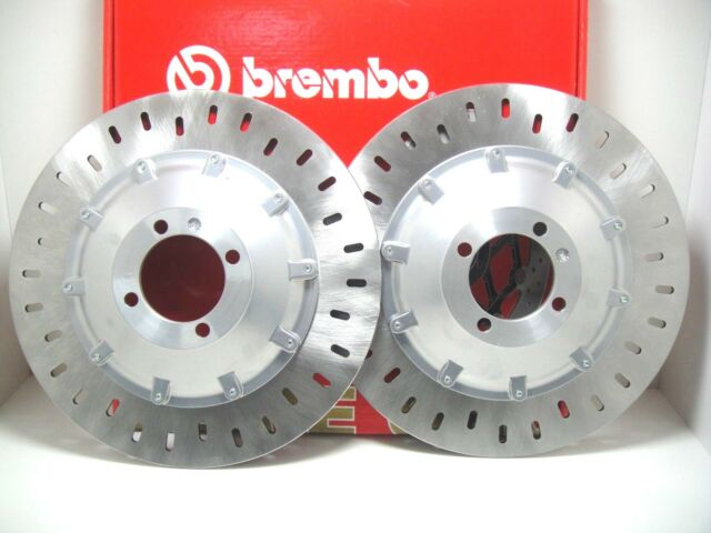 CP 2 FRONT BRAKE DISCS BREMBO 68B407D2 BMW 1000 K 100 (NO ABS) 1985 1986