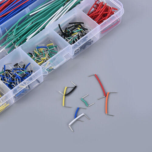 560pcs Jumper Kits Breadboard Lines Circuit Board Jumpers U Shape Cable Wire G3