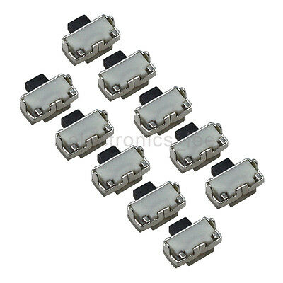10pcs 2x4mm On Off Power Switch Button Tact Switch