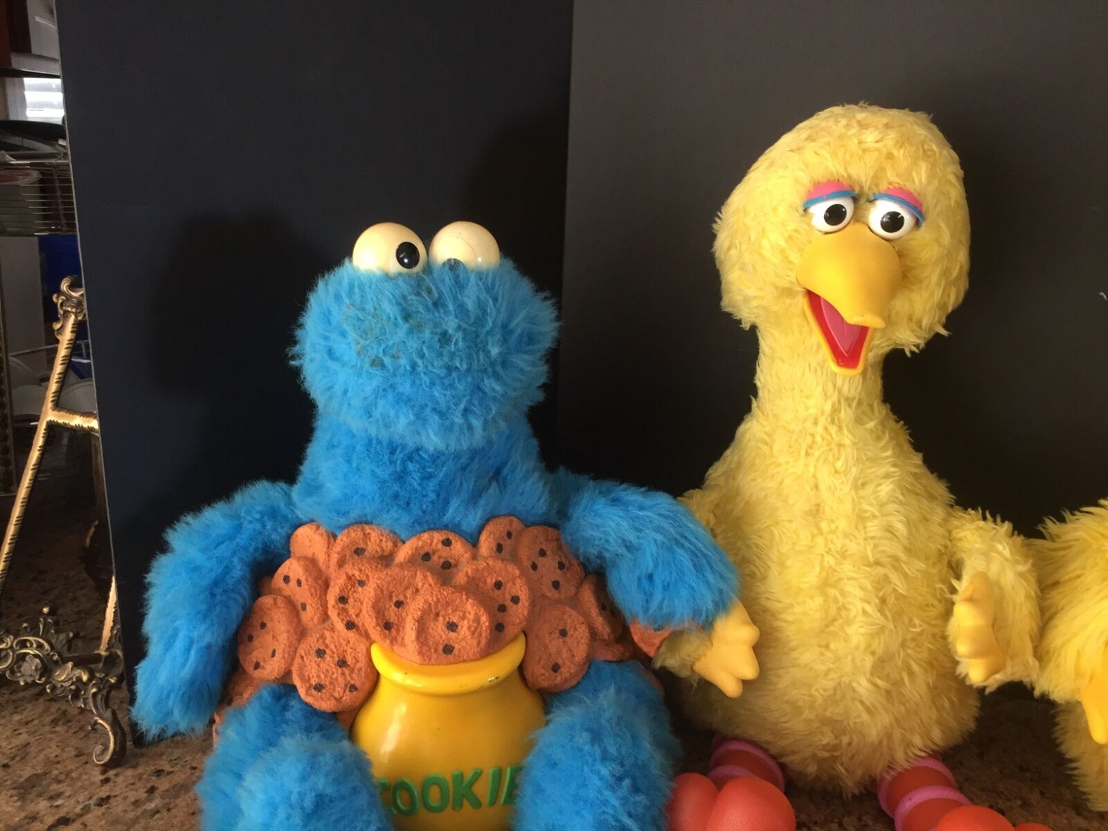VINTAGE IDEAL SESAME STREET INTERACTIVE BIG BIRD ONLY SOLD AS IS