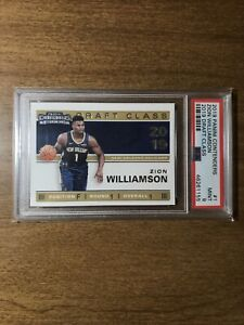 2019-Panini-Contenders-1-Zion-Williamson-Draft-Class-RC-Rookie-Card-PSA-9-Mint