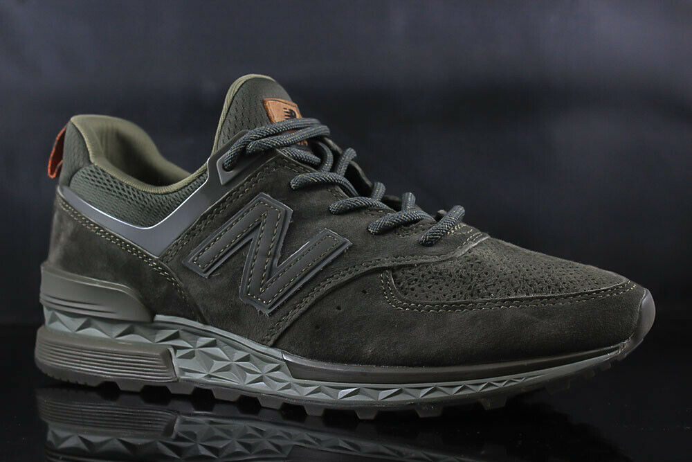 NEW BALANCE 574 MS574CA OLIVE Dimensione  10