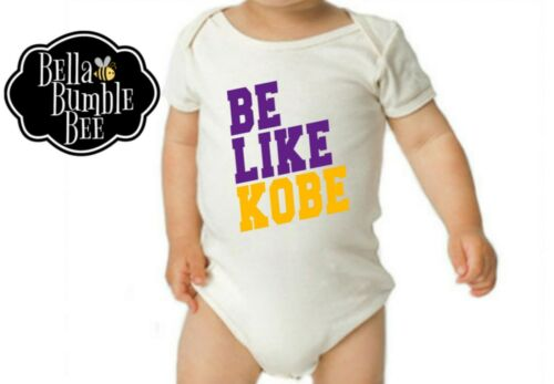 Kobe Bryant Inspired 517 Be Like Kobe Bodysuit for Boys Or Girls
