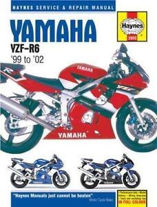 haynes service repair manual yamaha yzf r6 99 to 02 by ken rh ebay com 2006 R6 2005 R6