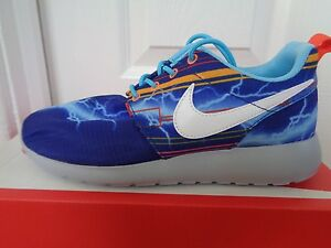 cf5304f752a0 Nike Rosherun print (GS) trainers sneakers 677782 401 uk 3.5 eu 36 ...