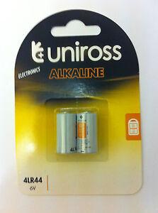 2x-LR44-6-voltaje-4lr44-A544-V4034PX-bateria-alcalina-por-UNIROSS
