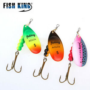 Spinner-Bait-0-5-3-Color-With-Mustad-Treble-Hooks-35647-BR-Bait-Fishing-Lure
