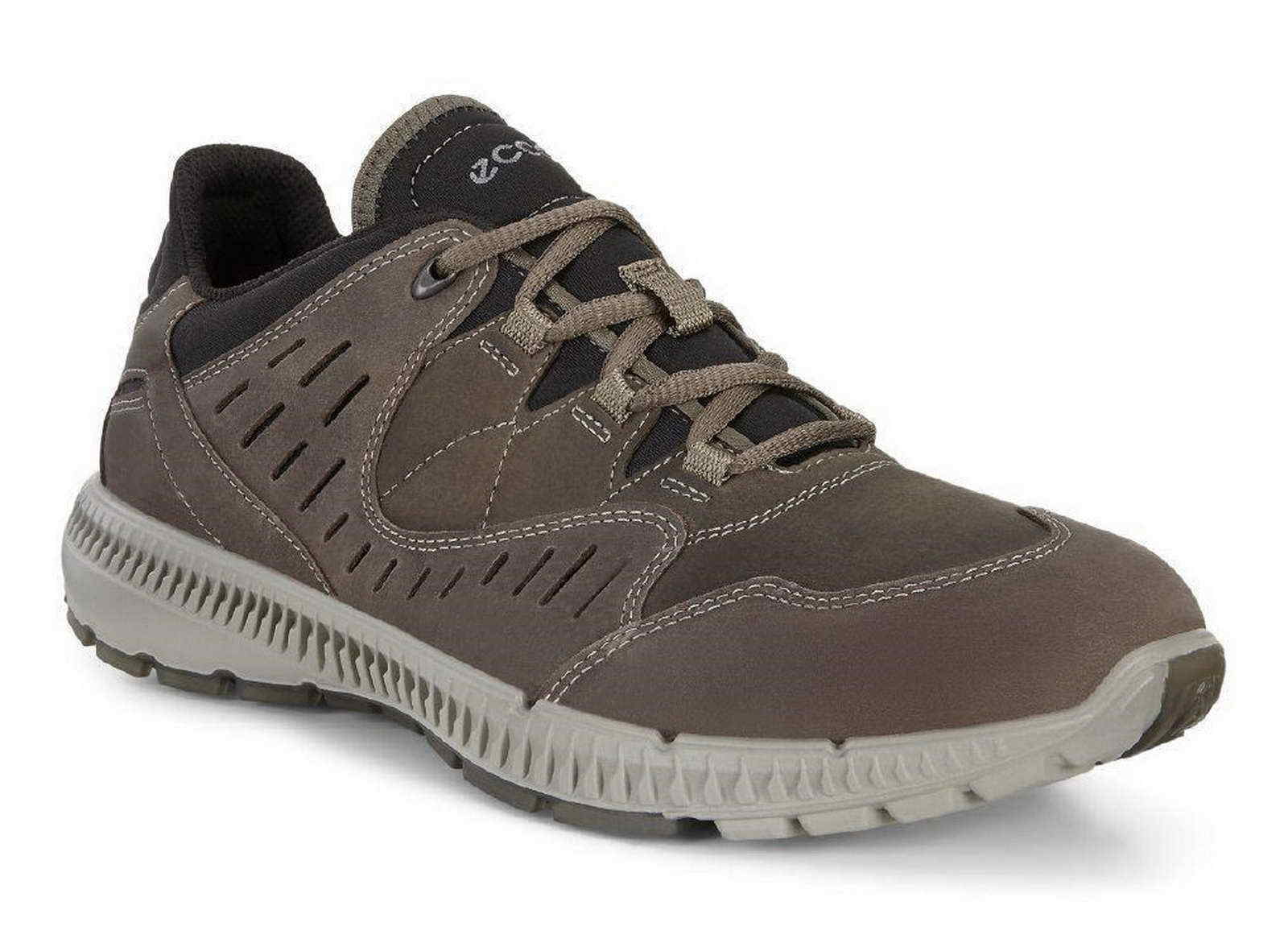 Ecco Sneaker Terrawalk Trekking grün braun tarnak Schnür 870504 55894