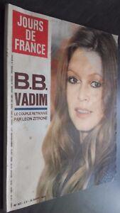 Rivista Mensile N° 927 Giorni Di Francia Brigitte Bardot 1972 Be Infolio