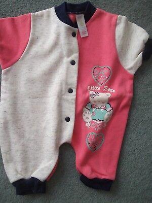 Bene Baby Ragazze Romper Suit By Adams, Neonato-fino A 7 1/2 Lb-mostra Il Titolo Originale