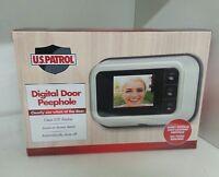 U.s. Patrol Digital Door Peephole - Video Clearly Shows Who Is At Door