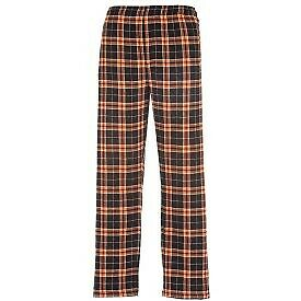 Details about  /Youth Classic Flannel Pants in Navy//Yellow or Orange//Black personalization avail